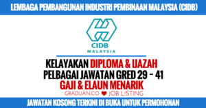LEMBAGA PEMBANGUNAN INDUSTRI PEMBINAAN MALAYSIA (CIDB)