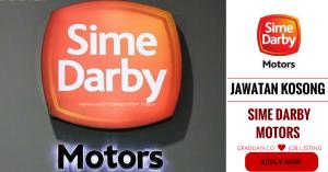 Jawatan Kosong Terkini Sime Darby Motors