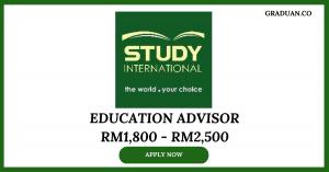Jawatan Kosong Terkini Study International Education Consult Sdn Bhd