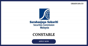Jawatan Kosong Terkini Suruhanjaya Sekuriti Malaysia (SC)