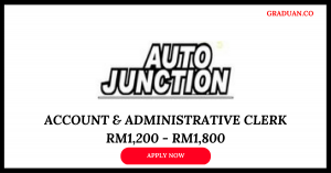 Jawatan Kosong Terkini Auto Junction (M) Sdn Bhd