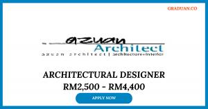 Jawatan Kosong Terkini Azuan Architect