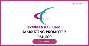 Jawatan Kosong Terkini Express Rail Link Sdn Bhd (ERL)