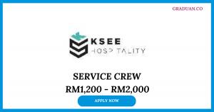 Jawatan Kosong Terkini KSee Hospitality Sdn Bhd