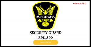 Jawatan Kosong Terkini Di M-Forces Security Sdn Bhd