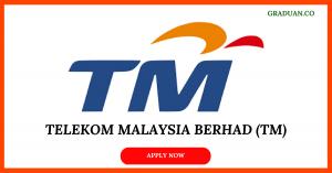 Jawatan Kosong Terkini Telekom Malaysia Berhad (TM)
