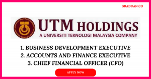 Jawatan Kosong Terkini UTM Holdings Sdn Bhd