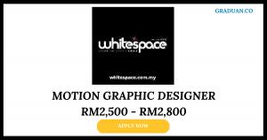 Jawatan Kosong Terkini White Space Design & Advertising
