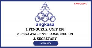 Jawatan Kosong Terkini Angkatan Koperasi Kebangsaan Malaysia Berhad (ANGKASA)