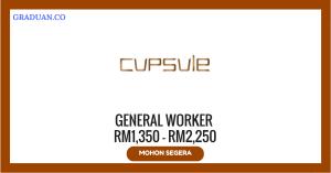 Jawatan KosongTerkini Cupsule Beverage Manufacture Sdn Bhd