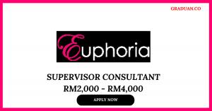 Jawatan Kosong Terkini Euphoria Cosmetics
