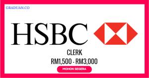 Jawatan KosongTerkini HSBC Bank Malaysia Berhad
