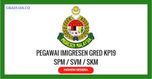 Jawatan KosongTerkini Jabatan Imigresen Malaysia