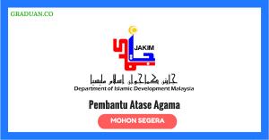 Jawatan Kosong Terkini Jabatan Kemajuan Islam Malaysia (Jakim)