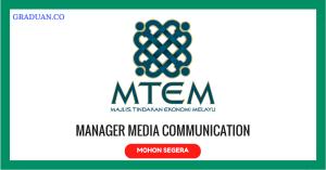 Jawatan KosongTerkini Majlis Tindakan Ekonomi Melayu Berhad (MTEM)