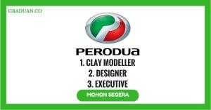 Jawatan Kosong Terkini Perodua Manufacturing Sdn Bhd