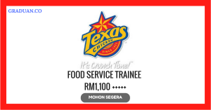 Jawatan KosongTerkini Texas Chicken (Malaysia) Sdn Bhd