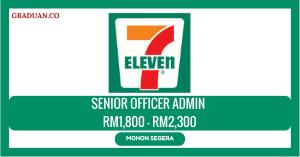 Jawatan KosongTerkini 7-Eleven Malaysia Sdn Bhd