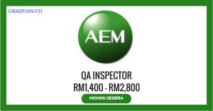 Jawatan KosongTerkini AEM Microtronics (M) Sdn Bhd