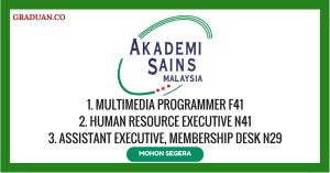 Jawatan KosongTerkini Akademi Sains Malaysia (ASM)