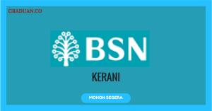 Jawatan KosongTerkini Bank Simpanan Nasional (BSN)