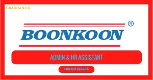 Jawatan KosongTerkini Boon Koon Vehicles Industries Sdn Bhd