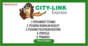 Jawatan KosongTerkini City-Link Express
