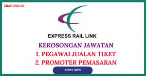 Jawatan KosongTerkini Express Rail Link Sdn Bhd (ERL)