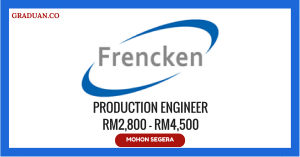 Jawatan KosongTerkini Frencken Mechatronics (M) Sdn Bhd