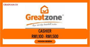 Jawatan KosongTerkini Great Zone Household Centre Sdn Bhd