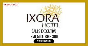 Jawatan KosongTerkini Ixora Hotel Sdn Bhd
