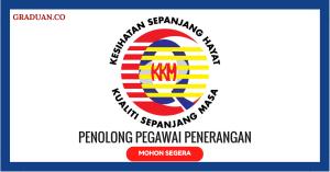 Jawatan KosongTerkini Kementerian Kesihatan Malaysia (KKM)