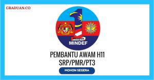 Jawatan KosongTerkini Kementerian Pertahanan Malaysia