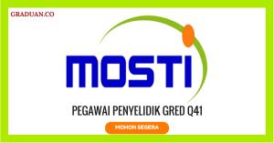 Jawatan KosongTerkini Kementerian Sains Teknologi dan Inovasi (MOSTI)