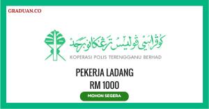 Jawatan KosongTerkini Koperasi Polis Terengganu Berhad