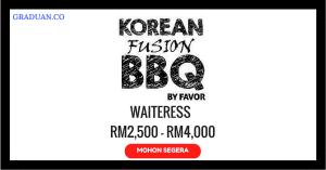 Jawatan KosongTerkini Korean Fusion BBQ