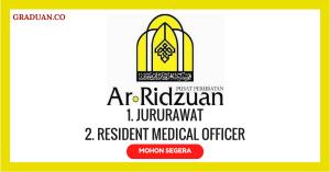 Jawatan KosongTerkini Kumpulan Perubatan Ar-Ridzuan Sdn Bhd
