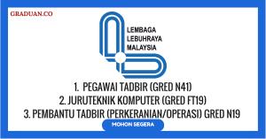 Jawatan KosongTerkini Lembaga Lebuhraya Malaysia (LLM)