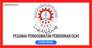 Jawatan KosongTerkini Majlis Amanah Rakyat (MARA)