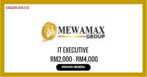 Jawatan KosongTerkini Mewamax Sdn Bhd