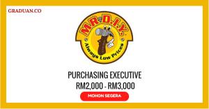 Jawatan KosongTerkini Mr. D.I.Y. Trading Sdn Bhd