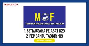 Jawatan KosongTerkini Perbendaharaan Malaysia Sarawak