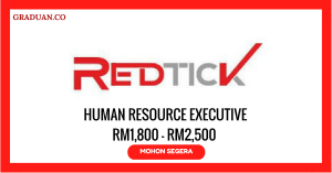 Jawatan KosongTerkini RedTick Sdn Bhd