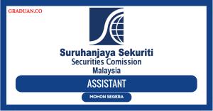 Jawatan KosongTerkini Suruhanjaya Sekuriti Malaysia