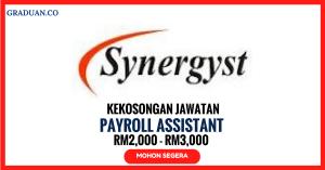 Jawatan KosongTerkini Synergyst Sdn Bhd