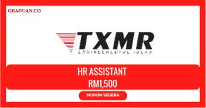 Jawatan KosongTerkini TXMR Sdn Bhd