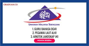 Jawatan KosongTerkini Universiti Malaysia Terengganu (UMT)