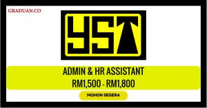 Jawatan KosongTerkini YST Electrical Sdn Bhd