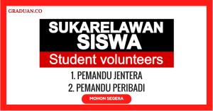 Jawatan KosongTerkini Yayasan Sukarelawan Siswa
