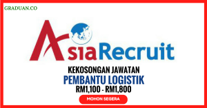 Jawatan KosongTerkini Agensi Pekerjaan Asia Recruit